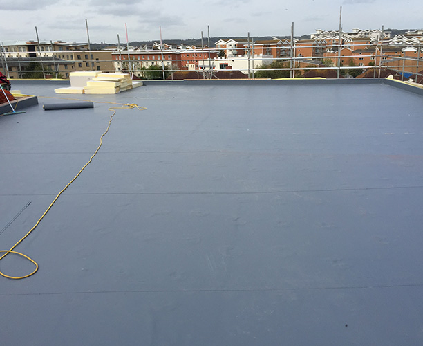 Commercial South Wales Single Ply Roofing